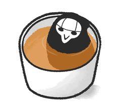 It's a Peeper steeping in a cup of tea