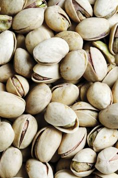 PISTACHIOS - Your Stomach Flattening Food  If you're looking to trim down your belly, then pistachios, together with almonds, are one of the best nuts you can snack on.   They are lower in calories and fat than most other nuts, while remaining high in protein, fiber and other essential vitamins and minerals.