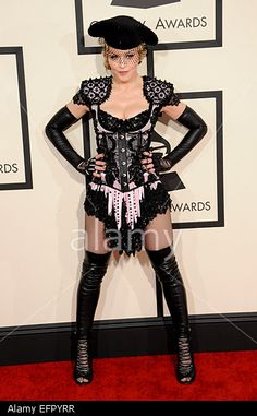 Madonna - 57th Annual Grammy Awards 2015  Los Angeles, USA. 08th Feb, 2015.  © dpa picture alliance / Alamy