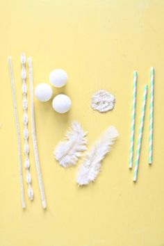 swan straws {abby hunter for shop sweet lulu}