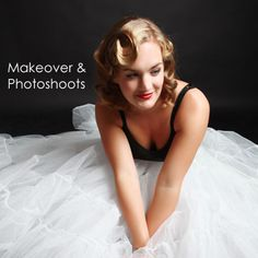 Makeover and photoshoots via Experience Days and Gifts Black White Red, Red Gold, Photo Makeover, Vintage Glam, Photoshoot Ideas, Hollywood, Gifts, Presents, Photography Ideas