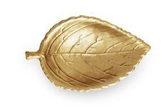 Aerin leaf serving dish.