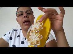 TRAMA DE PÉROLAS COM FLOR ABS (SIMONE ARTESÃ) - YouTube