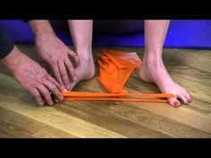 Exercises to strengthen the muscles of the foot.