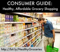 Healthy (& affordable) Grocery Shopping Guide