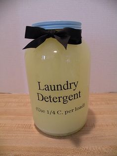 Homemade Laundry Detergent, this site has a lot of cleaning recipes