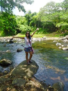 """""""Rivers and roads 'til I reach you."""" #summerselfie at Cavinti River"""