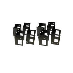 Hopkins 90124 2x4basics ShelfLinks Custom Storage System, Black - 6 Pack