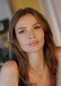 "Saffron Burrows as Andromache, Hector's wife in 2004's ""Troy"""
