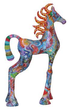 a horse - papier mache by Rina Strod