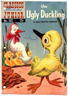 craft activity for ugly duckling story