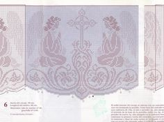 Filet crochet - Majida Awashreh - Álbuns da web do Picasa