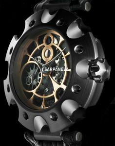Sarpaneva - Supernova 1 Carbon Men's Watches, Luxury Watches, Fashion Watches, Watches For Men, Designer Watches, Tic Tac, Clocks, Beautiful Things, Smooth
