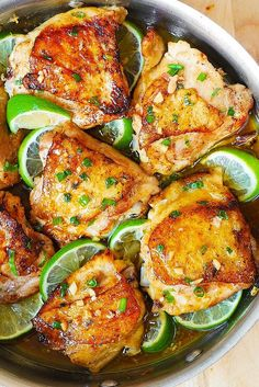 Pan-Roasted Honey Lime Chicken Thighs – easy, delicious, super-flavorful recipe. I love cooking chicken thighs – they are so easy to handle, and always come out moist and juicy. Can't really go wrong with this cut of meat. You'll love this simple recipe – perfect for a quick, weeknight dinner, and very budget-friendly too! Often,...Read More