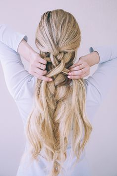 10 Hair Hacks To Survive Any Bad Hair Day - Convenile Pretty Hairstyles, Braided Hairstyles, Updo Hairstyle, Wedding Hairstyles, Double Braid, Long Layered Haircuts, Bad Hair Day, Looks Cool, Hair Dos