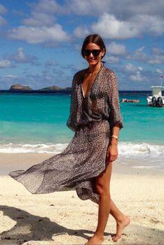 Olivia Palermo Sea style.