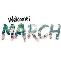 """Instagram: """"Welcome March!  O mês promete, férias casamento  e batizado  #welcomemarch #feriaschegando…"""""""