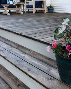 Are you looking for how to build floating deck plans step by step guide? I have here how to build floating deck plans guide you will love. Deck Stain Colors, Deck Colors, Cool Deck, Diy Deck, Deck Patio, Deck Makeover, Floating Deck, Diy Inspiration, Pergola Plans