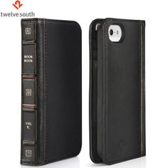Eine iPhone 5 Tasche mit integrierter Brieftasche sowie einem einzigartigen Buchdesign in schwarz.  http://www.mobilefun.de/37286-twelve-south-bookbook-iphone-5-tasche-in-schwarz.htm?referer=PI