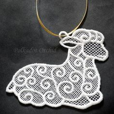 "lace sheep | maybe  for my ""black sheep ""tattoo"