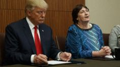 WASHINGTON (AP) — A sexual-assault victim who is critical of Hillary Clinton and who appeared alongside Donald Trump before Sunday night's debate was paid $2,500 by a political action committee founded by Trump ally Roger Stone.The Arkansas woman, Kathy Shelton, was sexually assaulted at age 12 and was the victim in a 1975 case in which Clinton was appointed to represent her then-41-year-old attacker, Thomas Alfred Taylor.