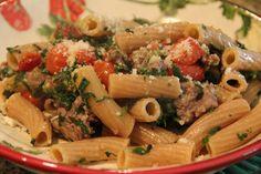 Roasted Tomato and Sausage Pasta