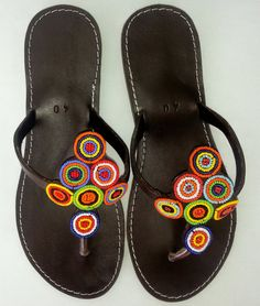 Hey, I found this really awesome Etsy listing at https://www.etsy.com/uk/listing/191231697/african-leather-sandals-beaded-flip