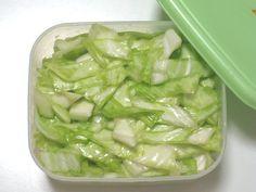 塩キャベツがクセになるおいしさ、簡単便利な作り置きレシピ | iemo[イエモ] Cookbook Recipes, Gourmet Recipes, Vegetarian Recipes, Snack Recipes, Cooking Recipes, Healthy Recipes, Cold Vegetable Salads, Vegetable Dishes, Veggie Sushi