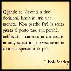 Bob Marley - Scelte