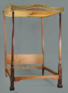 late eighteenth century four poster bed