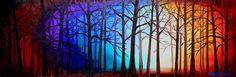Tangled Trees by Abstract D'Oyley - Mixed Medias
