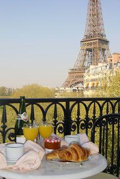 Breakfast in Paris.  I can handle this!  ASPEN CREEK TRAVEL - karen@aspencreektravel.com