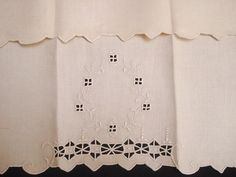 Italian Towel with Reticella Cutwork