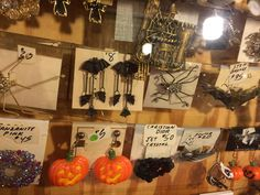 Halloween jewelry. Jewelry for every flavor of every holiday. The Barn Attic barnattic@aol.com  215-256-9305