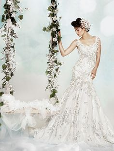 Dar Sara Wedding Gowns 2014