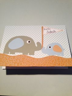 """""""Welcome baby"""" greeting card Welcome Baby, Toy Chest, Greeting Cards, Toys, Storage, Handmade, Home Decor, Activity Toys, Purse Storage"""
