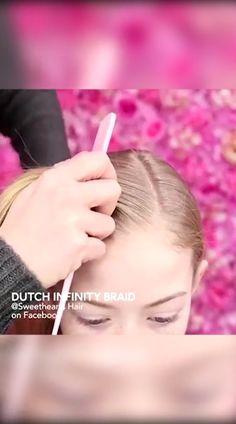 Braids are a girl's bestfriend! Baby Girl Hairstyles, Braided Hairstyles, Hairdos, Infinity Braid, Hair Cutting Techniques, Girl Hair Dos, Hair Upstyles, Toddler Hair, Hair Looks