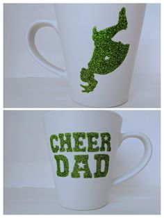 "Tasse à café ""Cheer Dad"" de la boutique CreationFarfelue sur Etsy"