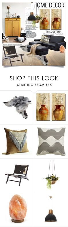 """Modern Southwest"" by clotheshawg ❤ liked on Polyvore featuring interior, interiors, interior design, home, home decor, interior decorating, Wildfox, CB2 and modern"