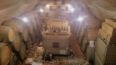 Eugenio Rosi's winery, in a stunning palace, in the center of Calliano. Trento