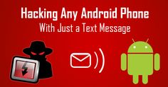 The text messages that land up in Android phone inbox should be watched carefully. A major security vulnerability has left a billion phones vulnerable to get hacked in the Android operating by a plain and simple text message. Android Phone Hacks, Cell Phone Hacks, Smartphone Hacks, Samsung Hacks, Iphone Hacks, Android Smartphone, Hack Wifi, Android Secret Codes, Android Codes