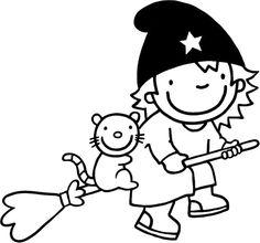 Patroon voor raamtekening Heksje Mimi Fairy Tales, Snoopy, Prints, Fictional Characters, Halloween, Childhood, Hand Spinning, Fairy Tail, Adventure Game