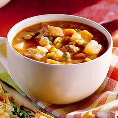 Was looking for a different steak soup - but this one looks good for a slow cooker day. :)