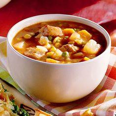 Best Slow-Cooker Soups and Stews | Steak Soup | MyRecipes.com