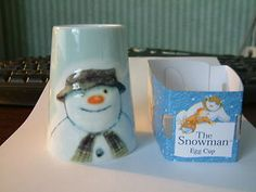 PORTMEIRION THE SNOWMAN EMBOSSED EGG CUP NEW | eBay