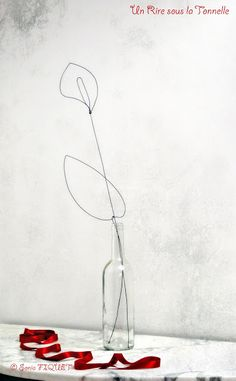 wire art - flower