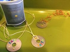 To go along with the parable of the mustard seed...we made these necklaces in our 3rd grade ccd class using washers, alphabet stickers, a mustard seed or a yellow sticker that looks like one, and string.  Each one came out uniquely beautiful and the students wore them proudly.