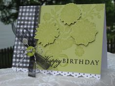 mary rose's cafe: PTI May Blog Hop. Lace and gingham bkgd