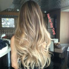 Graduated balayage ombre by Guy Tang - Yelp