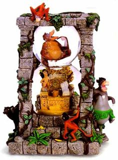 The Jungle Book - King Louie's Temple Double Globe